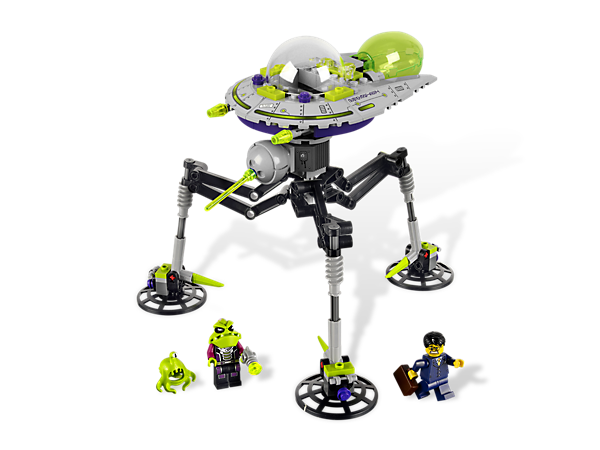 mini lego spaceship instructions